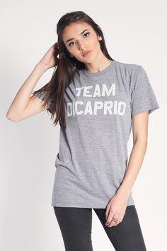 Team DiCaprio T-Shirt| shopjawbreaking.com  | $35