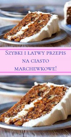 Polish Desserts, Dessert Cake Recipes, Pumpkin Cheesecake, Sweet Cakes, Food Cakes, No Cook Meals, Wine Recipes, Sweet Recipes, Food And Drink