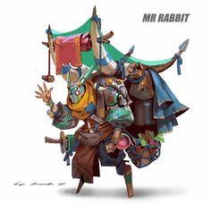 ArtStation - Mr Rabbit, Rock D