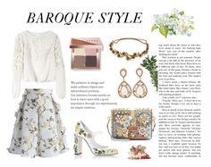 """Baroque Style"" by paula-marques-1 on Polyvore featuring moda, Dolce&Gabbana, Chicwish, Alice + Olivia, Jennifer Behr e Bobbi Brown Cosmetics"