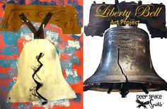 Liberty Bell- Patriotic craft