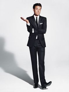 Long Tie Tuxedo Look  http://hwevents.typepad.com/trulyperfect/2009/07/the-grooms-tuxedo-rat-pack-style.html#