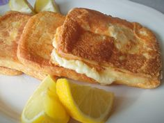 French Toast, Cooking Recipes, Cheese, Breakfast, Kindergarten, Drinks, Food, Greek Recipes, Morning Coffee