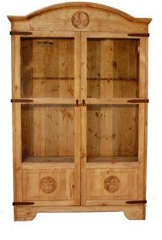 12 Gun Star Cabinet | Rustic Furniture | Great Western Furniture Co.