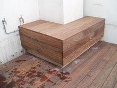 1000 id es sur le th me construire un banc sur pinterest - Comment faire une banquette en bois ...