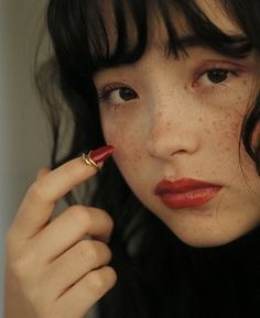 Image about girl in pretty ppl by emi kuu on We Heart It Pretty People, Beautiful People, Hawke Dragon Age, Female Character Inspiration, Drawing People, Pretty Face, Face And Body, Makeup Inspiration, Asian Beauty