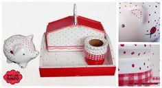 Decoupage, Holiday Decor, Home Decor, Breakfast Tray, Trays, Game, Bonito, Boxes, Presents