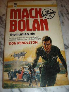 EXECUTIONER MACK BOLAN THE IRANIAN HIT #42 1ST PBO