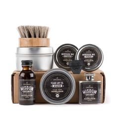 Ultimate Beard Care Kit - Wisdom Scent collection $99.99