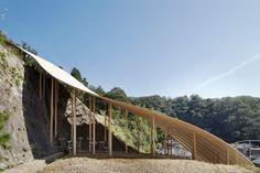 © Daici Ano Architects: Ryue Nishizawa, Nendo Location: Kyoto University of Art and Design, 2-116 北白川瓜生山 Sakyo Ward, Kyoto, Kyoto Prefecture