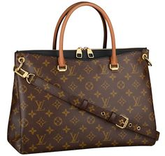 Louis Vuitton Pallas bag in New Classic Black Color