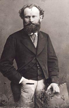 Edouard Manet, circa 1874