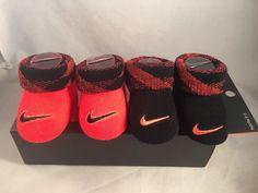 469de2c2691 2 Pair Nike Baby Booties