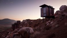 Endémico // eco-cabins on a secluded hill in the wine-growing region of Valle de Guadalupe, 1-1-1/2 hrs. south of San Diego in Baja California.