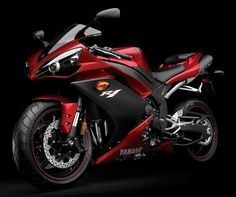 YAMAHA YZF R1. This is the predecessor of the current R1 and for some reason I like the cosmetic look of this than the current one.