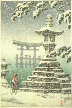 1930's - Koitsu, Tsuchiya - Miyajima (1)