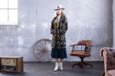 Silk Coat Belle Ikat Silk Coat, Mantel, Dresses With Sleeves, Shirts, Rock, Jeans, Long Sleeve, Fashion, Colour Combinations