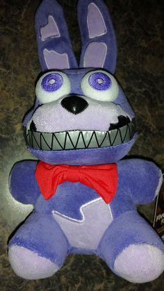 "Five Nights at Freddy's Nightmare Bonnie 6"" Plush - Toys R Us FNAF Funko **NEW** #Funko"