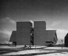 Fine Arts Centre, York University, Toronto, Canada, 1974 (Raymond Moriyama) York University, Willis Tower, Fine Art, Architecture, City, Centre, Toronto Canada, Buildings, Twitter