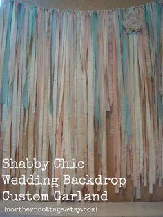 Hey, I found this really awesome Etsy listing at https://www.etsy.com/listing/201939549/custom-4x4-romantic-wedding-garland