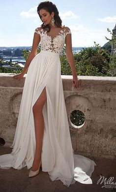 New (Un-Altered) Milla Nova Selena  Wedding Dress $800 USD. Buy it PreOwned now and save 73% off the salon price!