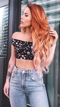 Hair Plus Bare – The sexy hair is only the beginning Dye My Hair, New Hair, Ombre Hair, Balayage Hair, Hair Inspo, Hair Inspiration, Natural Hair Styles, Long Hair Styles, Hair Color And Cut