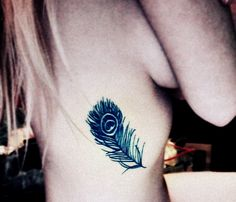 my peacock feather tattoo