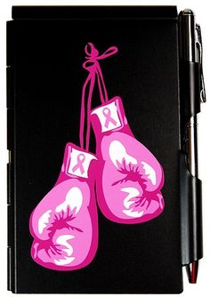 Image result for pink breast cancer boxing gloves