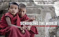 Schooling The World is a thought-provoking documentary about how Western-style education is creating a human monoculture across …