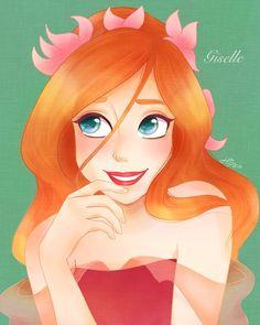 Resplendent Cartoon Drawing Tips Ideas Disney Artwork, Disney Fan Art, Disney Drawings, Cartoon Drawings, Cute Drawings, Enchanted Movie, Giselle Enchanted, Disney Enchanted, Disney Pixar