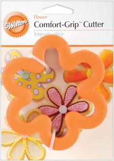 Wilton Comfort-Grip Cookie Cutter: 4 Flower *** Remarkable product available  : Baking Accessories