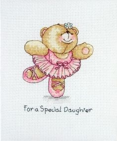 For A Special Daughter - Forever Friends Cross Stitch Kit