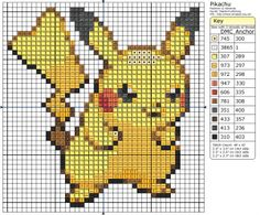 "Search Results for ""pikachu"" – Page 4 – Birdie Stitching Beaded Cross Stitch, Crochet Cross, Cross Stitch Embroidery, Pixel Crochet, Cross Stitch Designs, Cross Stitch Patterns, Pokemon Cross Stitch, Pikachu Crochet, 8bit Art"