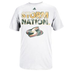 adidas Seattle Storm WNBA Nation T-Shirt - White