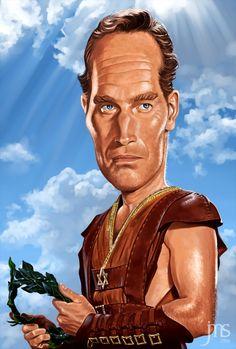 "Charlton Heston ""Spartacus"""