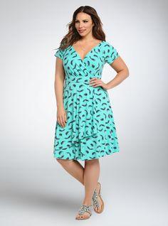 Plus Dresses, Day Dresses, Dresses For Sale, Ruffle Dress, I Dress, Ruffle Trim, Fiesta Dress, Big Size Dress, Plus Size Fall Outfit