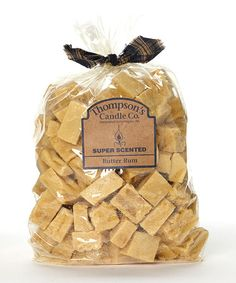 Love this Butter Rum 32-Oz. Wax Crumble Bag by Thompson's Candle Co. on #zulily! #zulilyfinds