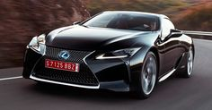 600HP Lexus LC F Poised To Debut At October's Tokyo Motor Show #Lexus #Lexus_LC