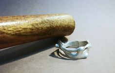 Abstracción; 2015 Anillo de plata (Silver ring) Cristina Alises