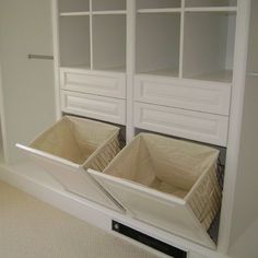 Built In Laundry Hamper Design Ideas, Pictures, Remodel, and Decor