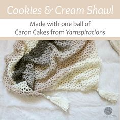 Make the Cookies & Cream Cowl with Caron Cakes