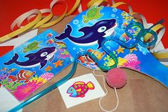 Sealife and Wiggle Straw Party Bag £2.00