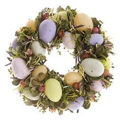 Easter wreath by Pentik. Easter Wreaths, Happy Easter, Floral Wreath, Spring, Design, Home Decor, Happy Easter Day, Flower Crown, Decoration Home