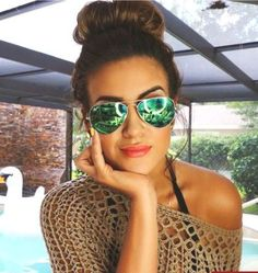 green mirror ray-ban sunglasses,Inspired mirrored sunglasses http://www.justtrendygirls.com/inspired-mirrored-sunglasses/