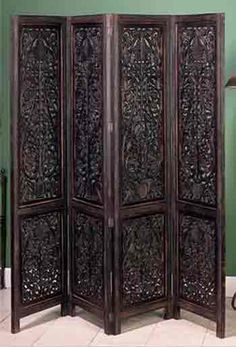 wooden room divider ~ folding room dividers ~ screen room divider