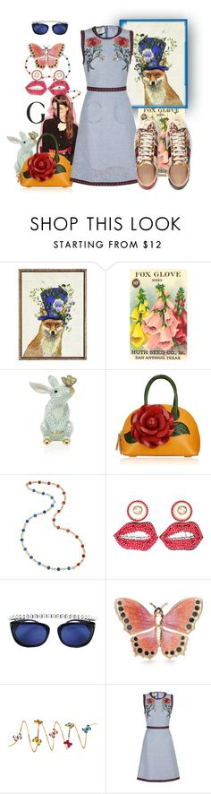 """""""071316-6 Presenting the Gucci Garden Exclusive Collection: Contest Entry"""" by nanniehatter ❤ liked on Polyvore featuring Gucci, Pier 1 Imports, Herend, Chanel, Kim Rogers, Christina Debs and gucci"""
