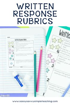 Implementing written response rubrics allows students to self-assess their own work! Rubrics increase student responses by allowing students to see everything they need to include in a well constructed written response! Informational Writing, Writing Rubrics, Paragraph Writing, Opinion Writing, Persuasive Writing, Writing Ideas, Writing Skills, Creative Writing, Nonfiction