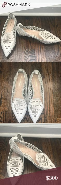 Nicholas Kirkwood Beya Laser-Cut Leather Loafer. Nicholas Kirkwood Beya Laser-Cut Leather Loafer, Light Natural In mint condition. SOLD OUT EVERYWHERE Nicholas Kirkwood Shoes Flats & Loafers