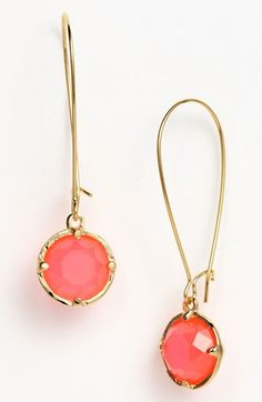 kate spade new york drop earrings available at #Nordstrom
