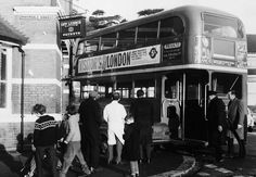 London transport RT899 Erith 1969.